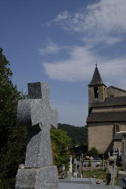 église romane Notre Dame De L'Oder