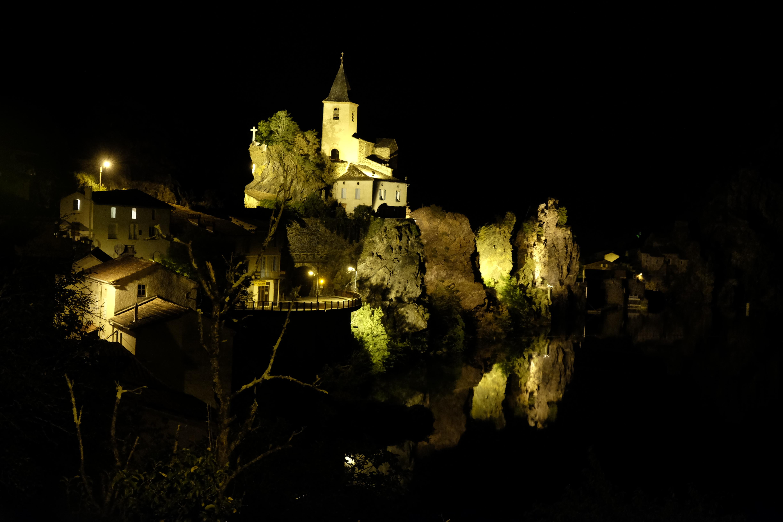 lumières du soir sur Ambialet