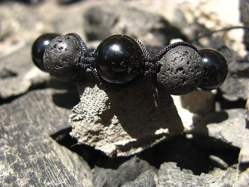 Pulsera Ónix Negro