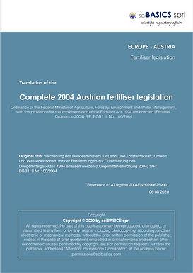 Cover Page - complete fertiliser regulat