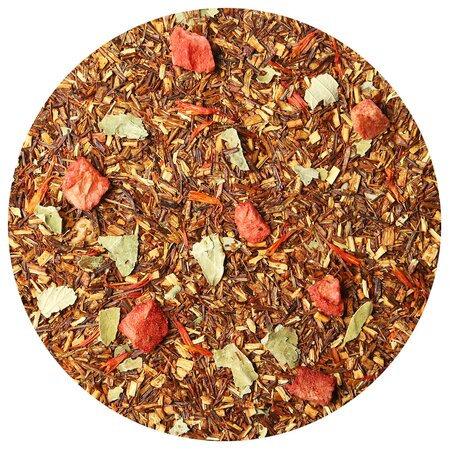 Чайный напиток Ройбуш с земляникой (Ройбос), 100 грамм