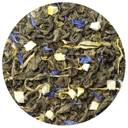 Чай зелёный Лимон и Мята, 100 грамм