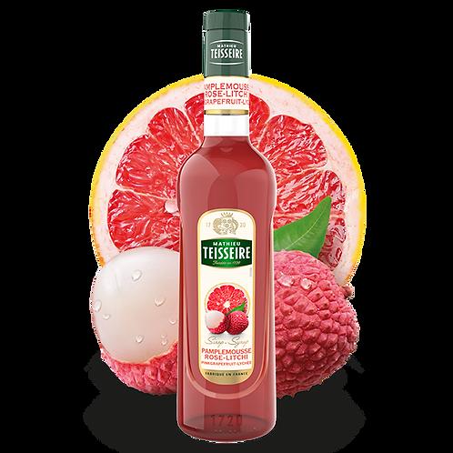 Сироп MATHIEU TEISSEIRE Грейпфрут и Личи, 0,7 л