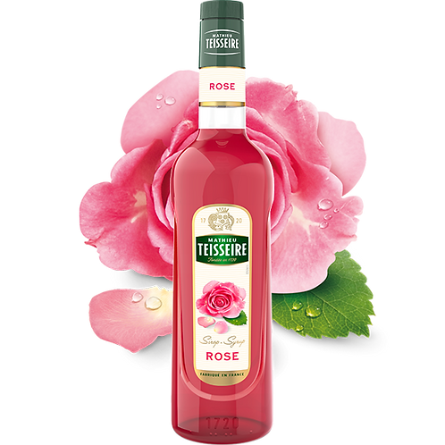 Сироп MATHIEU TEISSEIRE Роза, 0,7 л