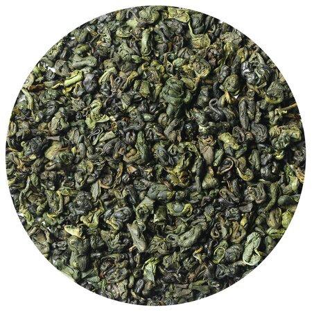 Чай зелёный Ганпаудер молочный (порох), 100 грамм