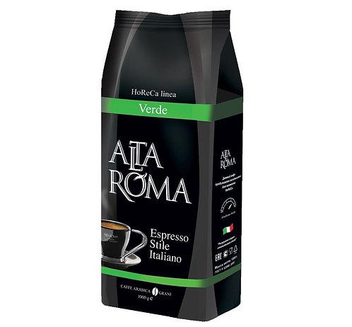 Кофе в зёрнах ALTA ROMA Verde, 1 кг