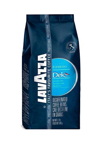 Кофе в зёрнах Lavazza DEK Espresso (без кофеина), 500 г