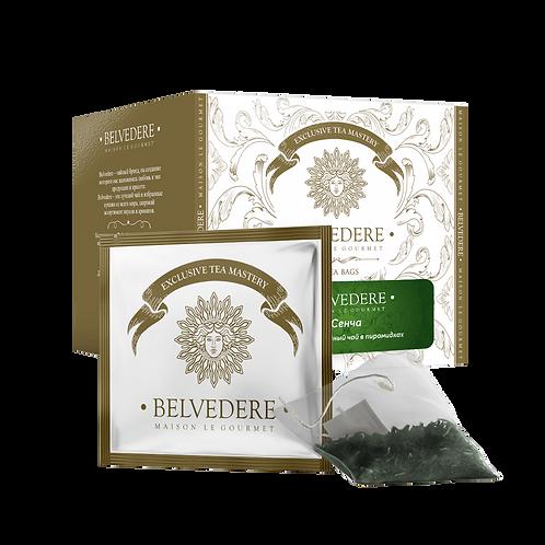Чай  в пирамидках Belvedere Сенча для чашек и чайников, 3 г*17 шт