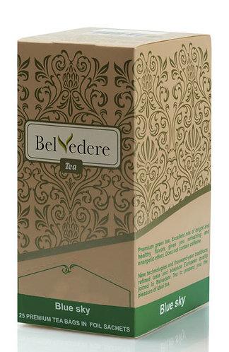 Пакетированный чай Belvedere Голубое Небо для чашек, 1,7 г*25 шт