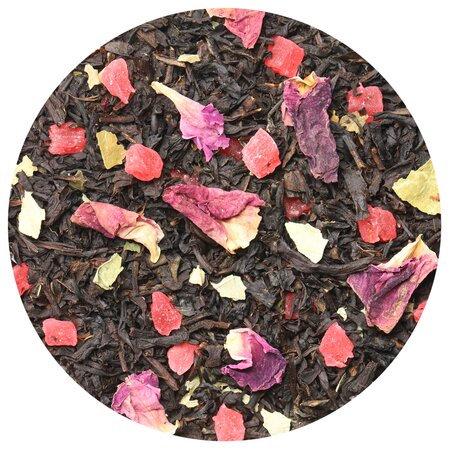Чай чёрный Клубника со сливками, 100 грамм