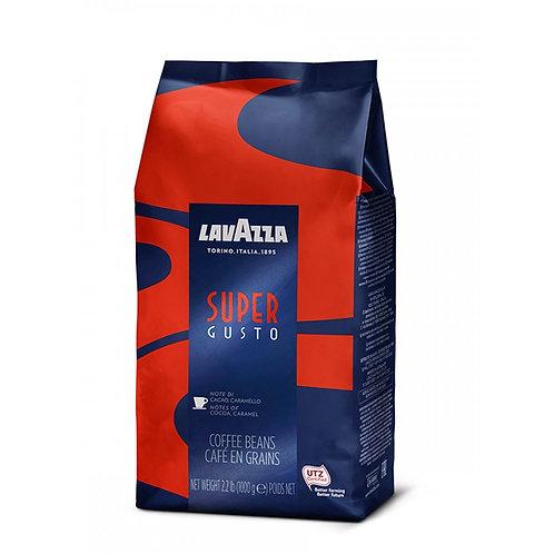 Кофе в зёрнах Lavazza Super Gusto UTZ, 1 кг