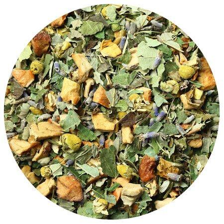 Чай травяной Яблоко и Лаванда, 100 грамм