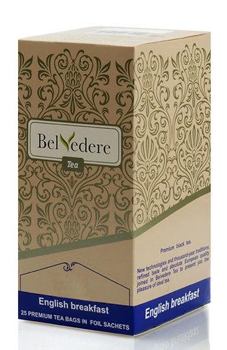 Пакетированный чай Belvedere Английский завтрак для чашек, 2 г*100 шт