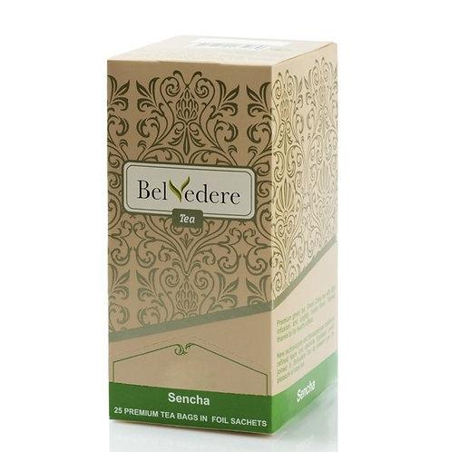 Пакетированный чай Belvedere Сенча для чашек, 1,5 г*25 шт