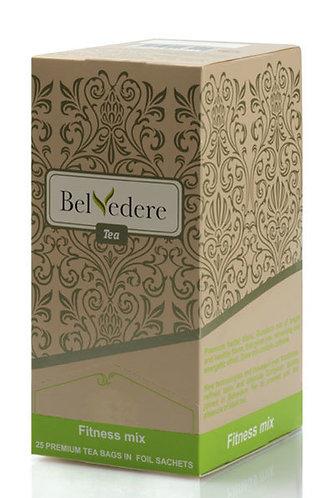 Пакетированный чай Belvedere Фитнес Микс для чашек, 1,7 г*100 шт