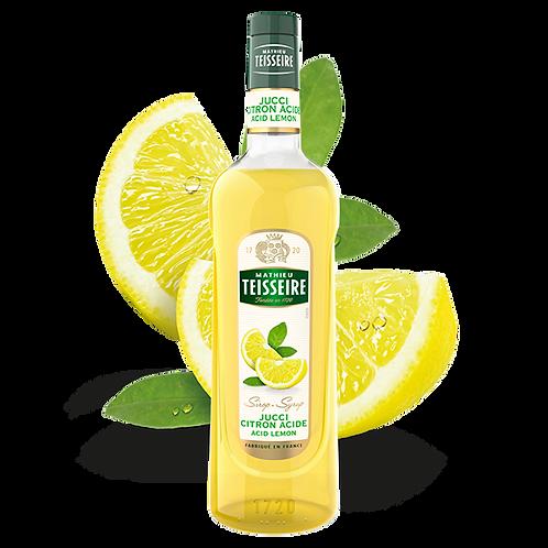 Сироп MATHIEU TEISSEIRE Лимон, 1 л