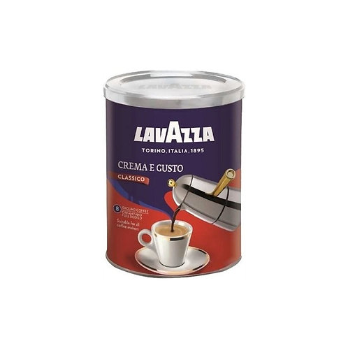 Кофе молотый Lavazza Crema e Gusto, ж/б, 250 г