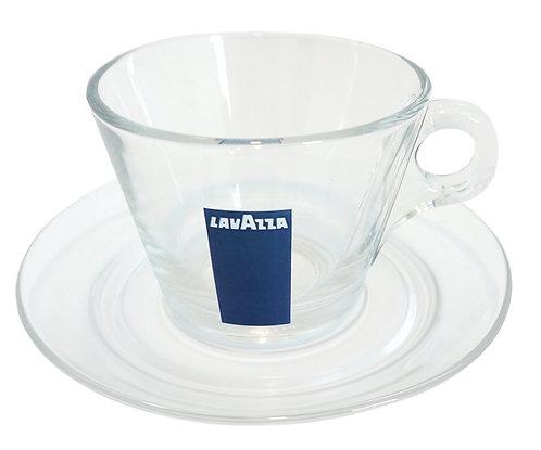 Пара стеклянная для капучино Lavazza, 165 мл, 6 шт