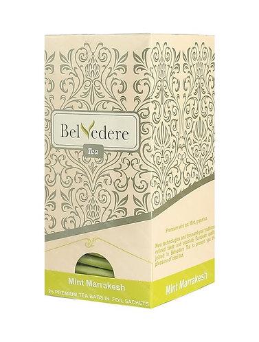 Пакетированный чай Belvedere Мятный Марракеш для чашек, 1,5 г*25 шт