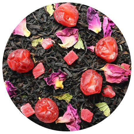 Чай чёрный Вишня с Ромом, 100 грамм