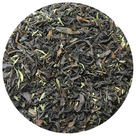 Чай чёрный с чабрецом, 100 грамм