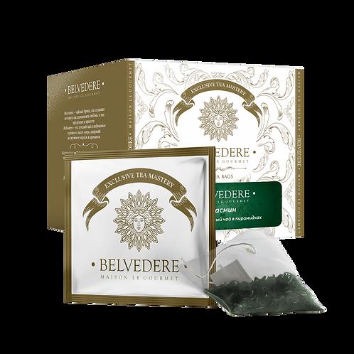 Чай в пирамидках Belvedere Жасмин для чашек и чайников, 3 г*17 шт
