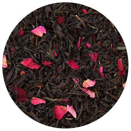 Чай красный Мей Гун Хун Ча (с лепестками роз), 100 грамм