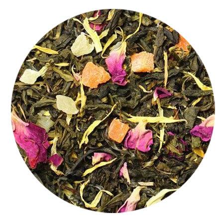 Чай зелёный Манговый рай (Королевский манго), 100 грамм