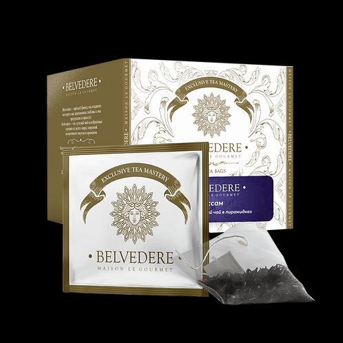 Чай  в пирамидках Belvedere Ассам для чашек и чайников, 3,5 г*17 шт
