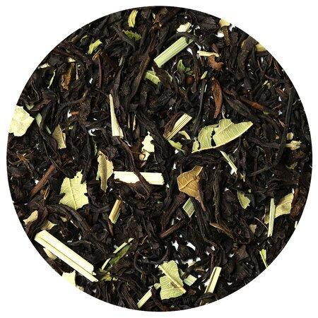 Чай чёрный с мелиссой и мятой, 100 грамм