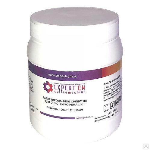 Средство для чистки от кофейных масел EXPERT-CM, таблетки, 100 шт