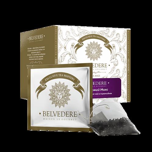 Чай в пирамидках Belvedere Фитнес Микс для чашек и чайников, 3 г*17 шт