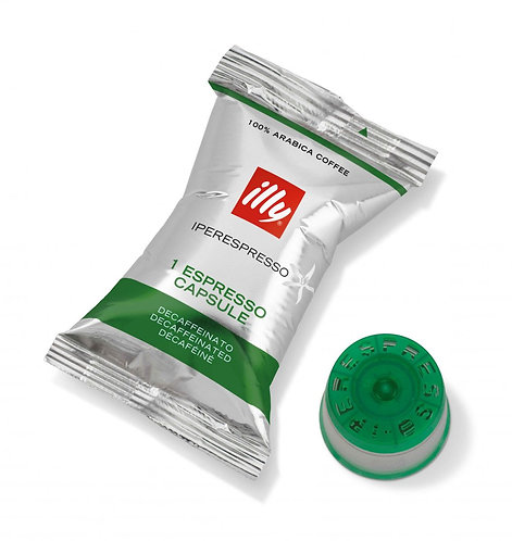 Капсулы ILLY без кофеина, 100 шт