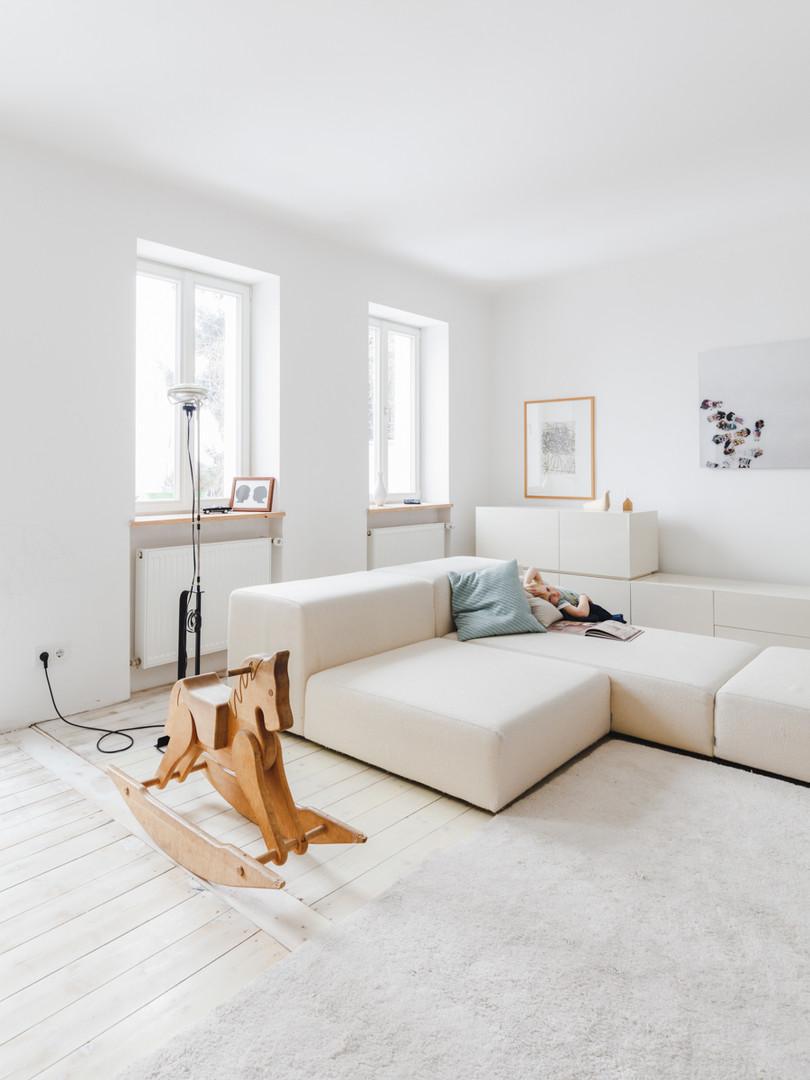 Christian Waldner and Paula Groß's Home for Atrium Magazine