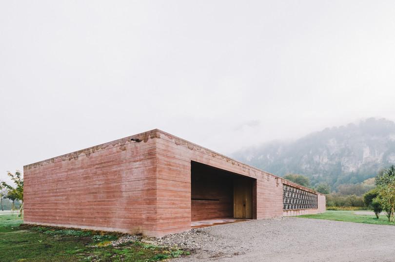 Islamic Cemetery in Altach - Bernardo Bader
