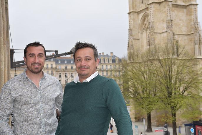 Fabrice Libat et Guillaume Dwleeschauver