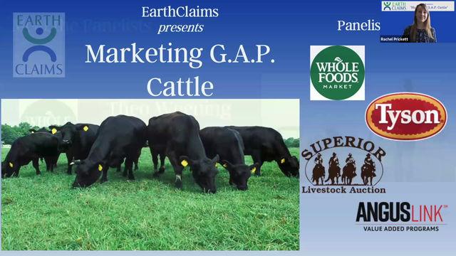 Marketing G.A.P. Cattle - Webinar Recording
