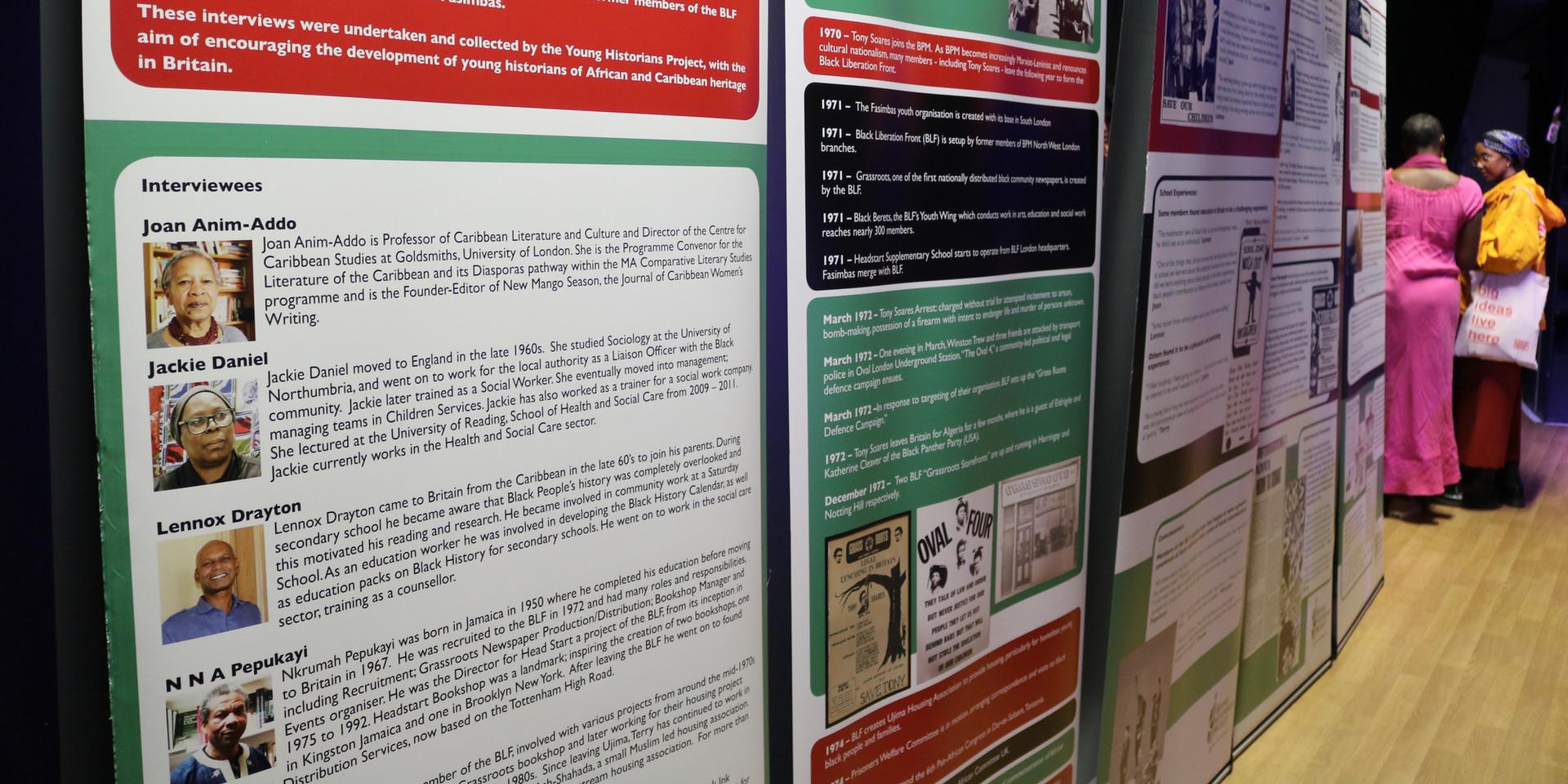 BLF exhibition
