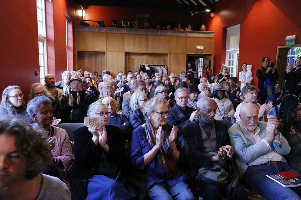 Audience at launch of A Hackney Autobiography