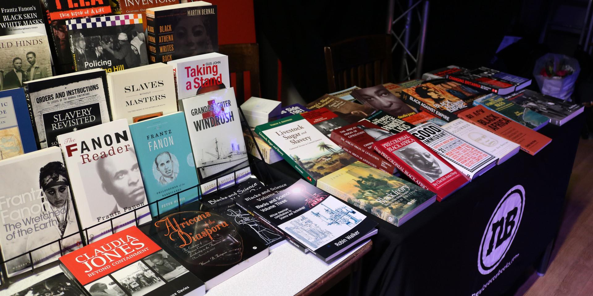 New Beacon bookstall