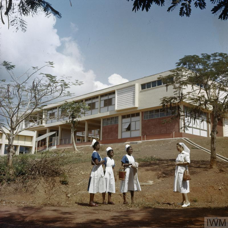 Nurses School at Sekondi, Gold Coast (Ghana) 1956