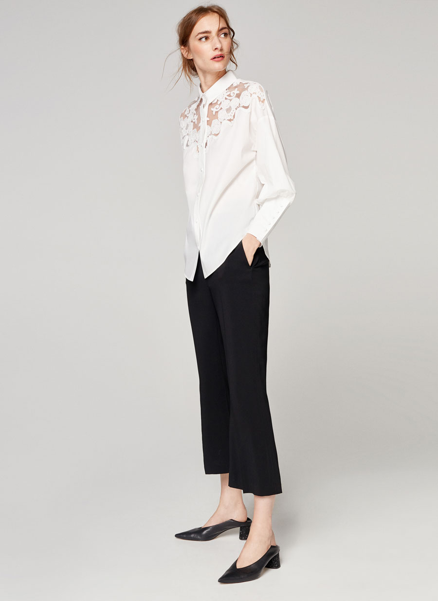 Uterque embroidered shirt