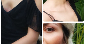 Little black dress on a stylist holiday