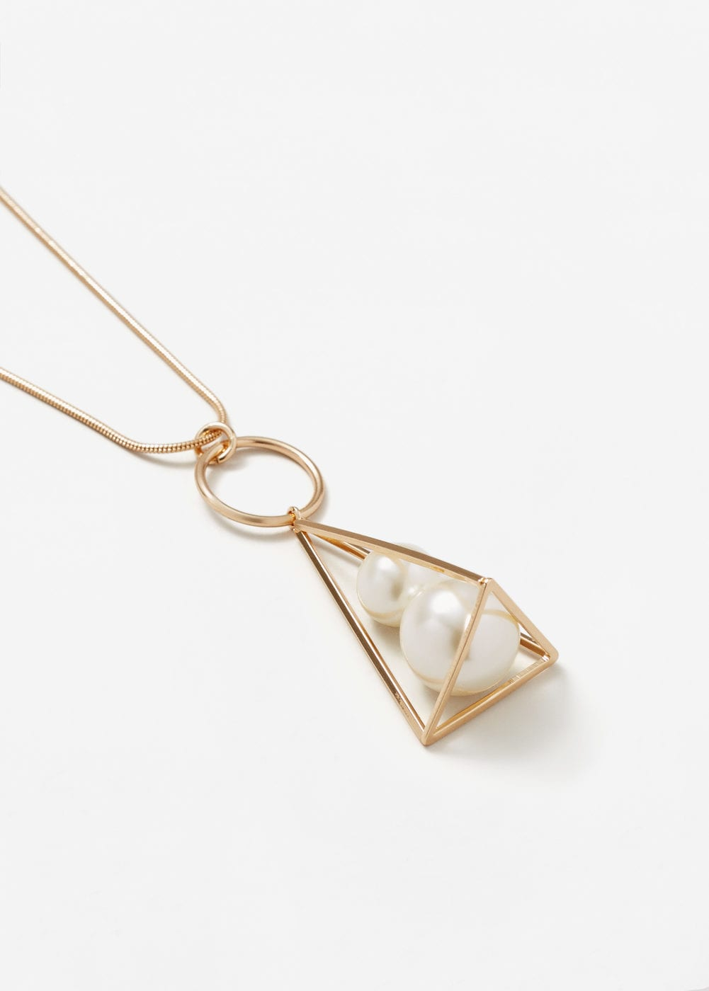 Pearls geographic necklace Mango
