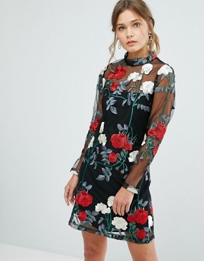 Asos Embroidery Dress