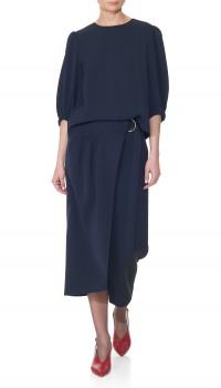 Asymmetrical skirt TIBI