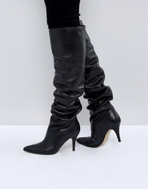 Slouch boots Asos