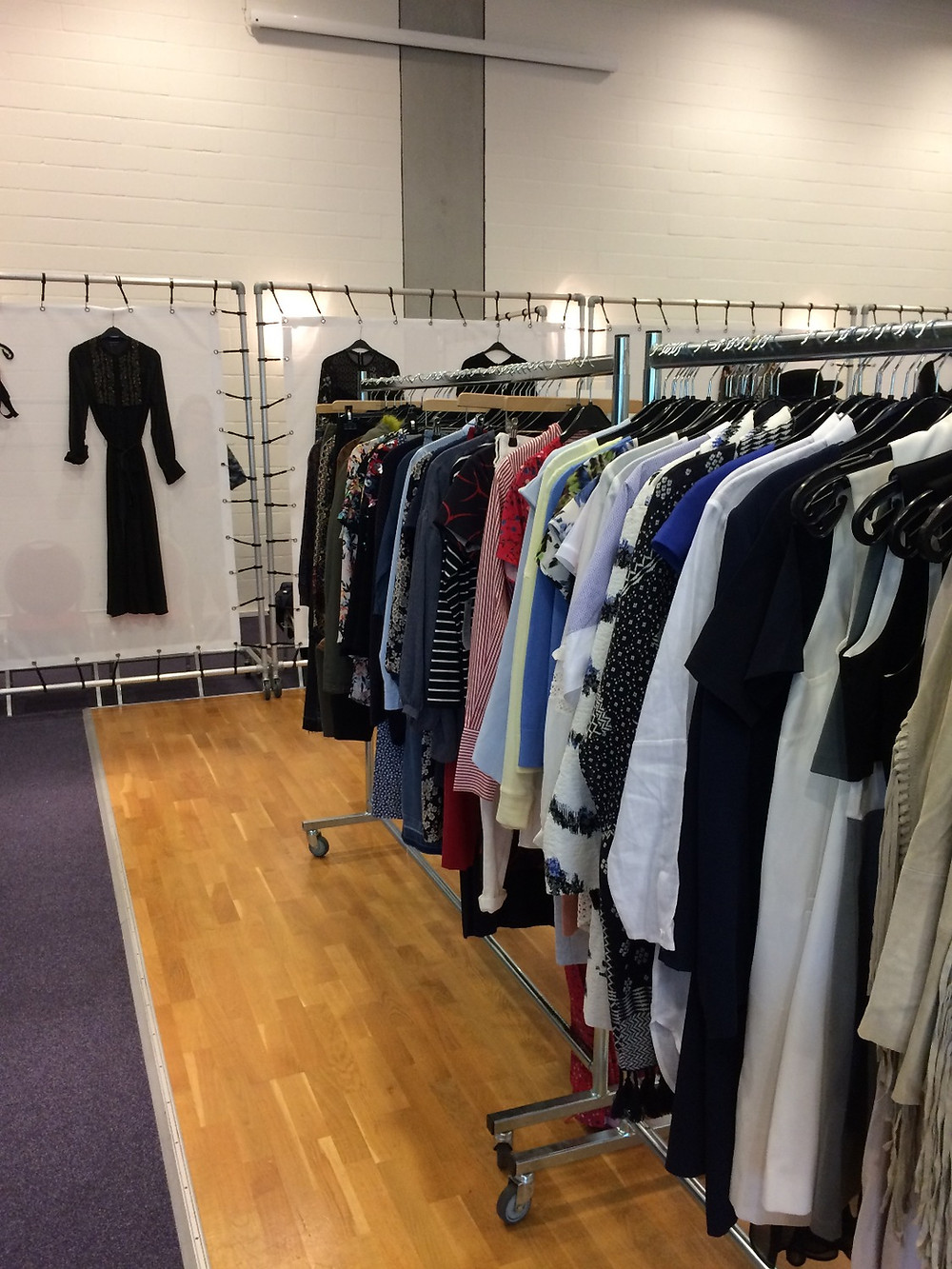 French Connection is a quiet sample sale