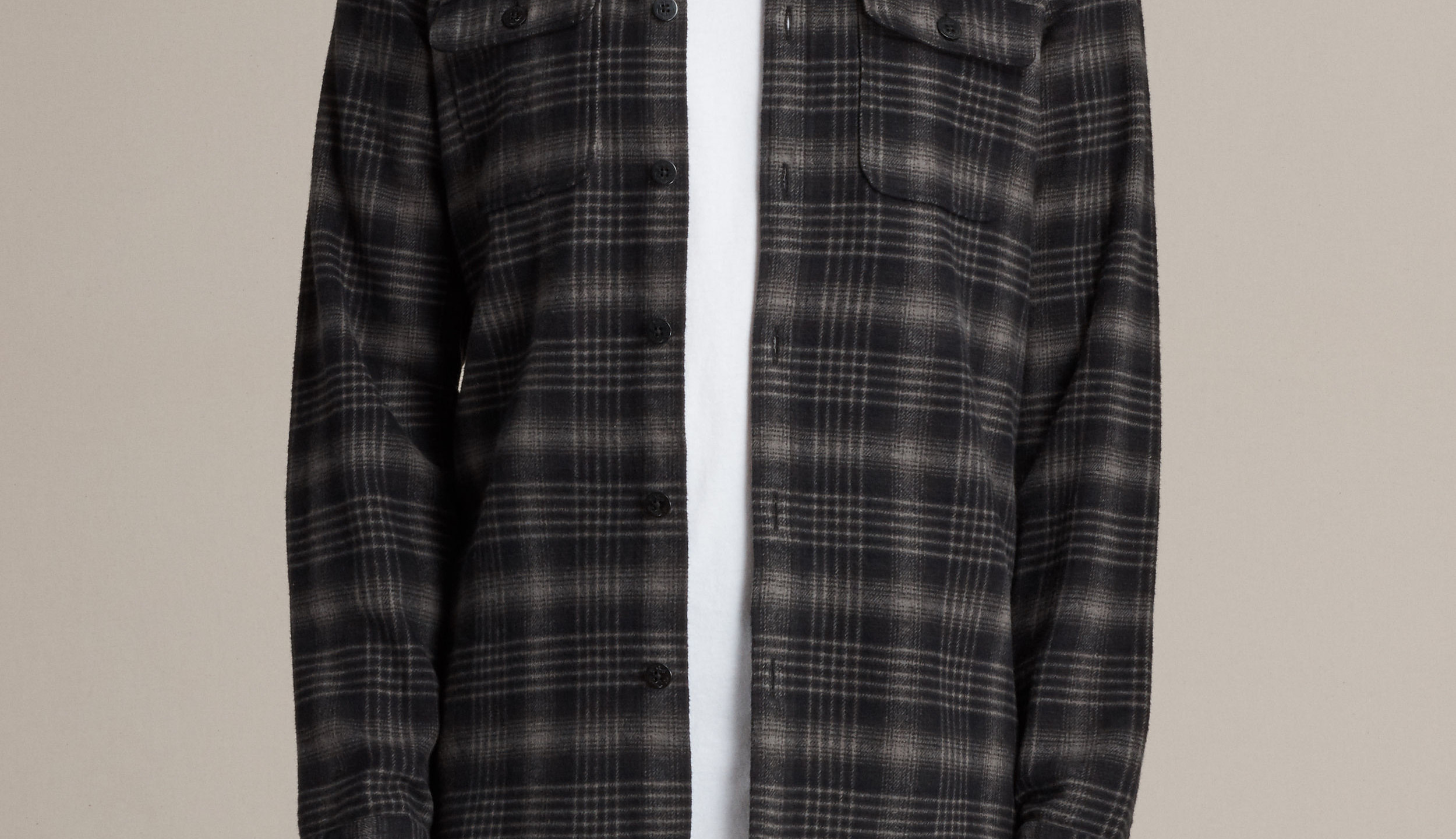 All Aaints checked shirt