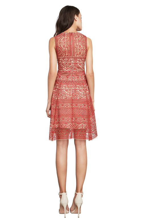 BCBG cocktail lace dress
